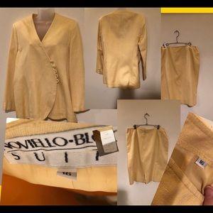 Novello Bloom Gorgeous Suit  100% silk